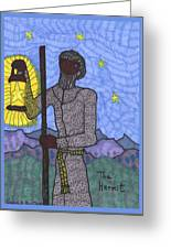 Tarot Of The Younger Self The Hermit Greeting Card