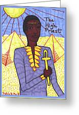 Tarot Of The Younger Self The High Priest Greeting Card