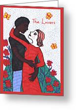 Tarot Of The Younger Self The Lovers Greeting Card