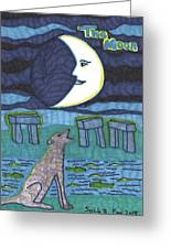 Tarot Of The Younger Self The Moon Greeting Card
