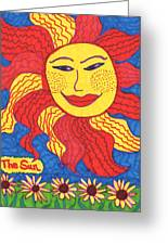 Tarot Of The Younger Self The Sun Greeting Card