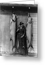 Tarpon Fishing 19th Century  Greeting Card