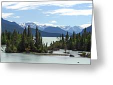 Taseko Lake Greeting Card