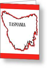 Tasmania Greeting Card