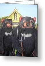 Tasmanian Gothic Greeting Card