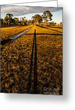 Tasmanian Sunset Explorer Greeting Card