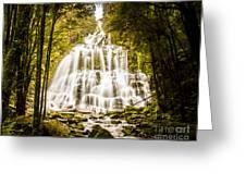 Tasmanian Waterfalls Greeting Card