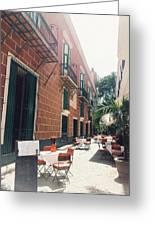 Taste Of Italy In Cuba Greeting Card