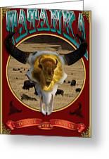 Tatanka American Bison Greeting Card