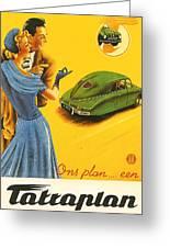 Tatraplan Greeting Card