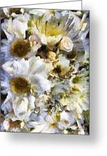 Tattered Bouquet Greeting Card