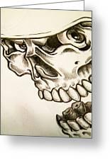 Tattoo Design Greeting Card