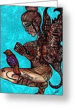 Tattoo Fairy Greeting Card