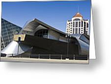 Taubman And Tower Roanoke Virginia Greeting Card