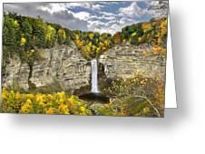 Taughannock Falls Autumn Greeting Card