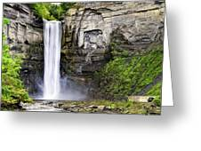 Taughannock Falls Gorge Greeting Card