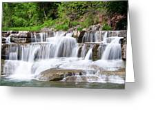 Taughannock Falls Sp 0462 Greeting Card