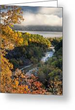 Taughannock Park Gorge Greeting Card