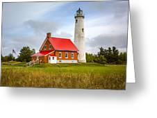 Tawas Point Lighthouse - Lower Peninsula, Mi  Greeting Card