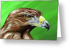Tawny Eagle Greeting Card
