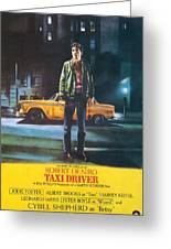Taxi Driver - Robert De Niro Greeting Card by Georgia Fowler