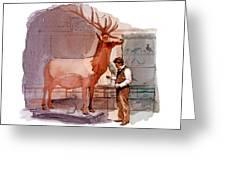 Taxidermist Greeting Card