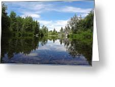 Taylor Creek Reflections Greeting Card
