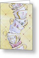 Tea - Ter Totter Greeting Card