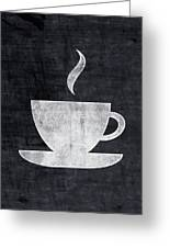 Tea And Coffee- Art By Linda Woods Greeting Card