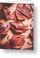 Tea Break  Greeting Card