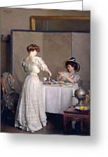 Tea Leaves Greeting Card