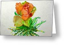 Tea Rose                        Copyrighted Greeting Card