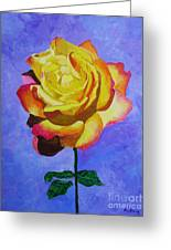 Tea Rose Greeting Card
