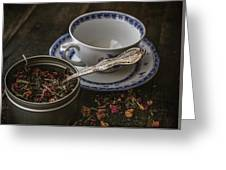 Tea Time 8529 Greeting Card