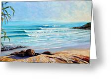 Tea Tree Bay Noosa Heads Australia Greeting Card