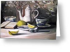 Tea With Lemon Greeting Card