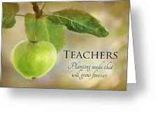 Teachers Greeting Card