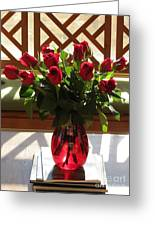 Teak And Roses Greeting Card