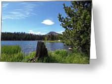 Teapot Lake Greeting Card
