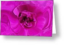 Teapot Rose Greeting Card