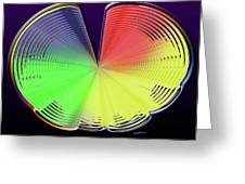 Technicolor Shell Greeting Card