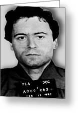 Ted Bundy Mug Shot 1980 Vertical  Greeting Card