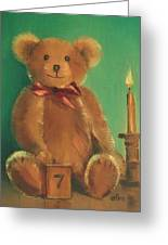 Ted E. Bear Greeting Card