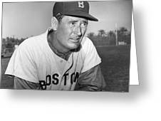 Ted Williams (1918-2002) Greeting Card