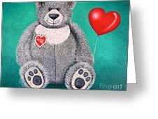 Teddy Bear Eli Greeting Card