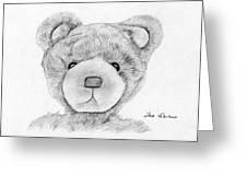 Teddybear Portrait Greeting Card