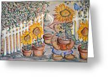 Teddy's Sunshine Greeting Card