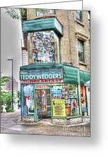 Teddywedgers Greeting Card