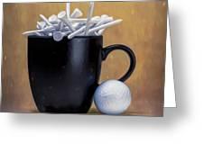Teecup Greeting Card