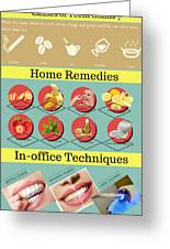 Teeth Whitening- Give Your Teeth The Care They Need Greeting Card